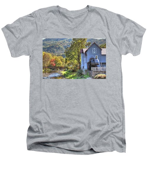 Saunooke Mill Men's V-Neck T-Shirt