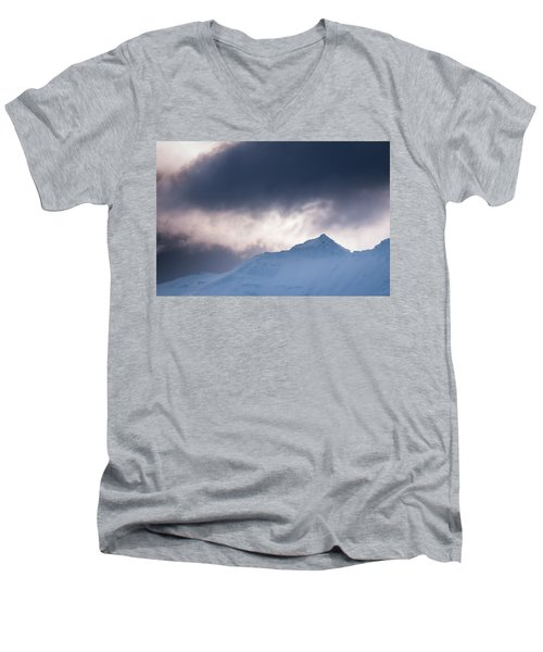 Savage Mountain Men's V-Neck T-Shirt