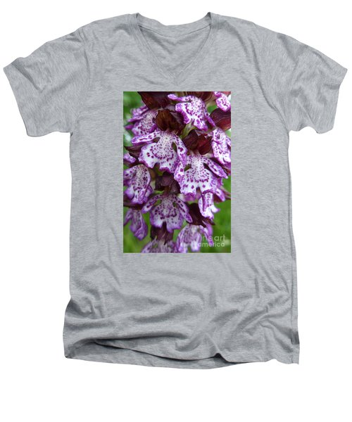 Savage Orchid 2 Men's V-Neck T-Shirt