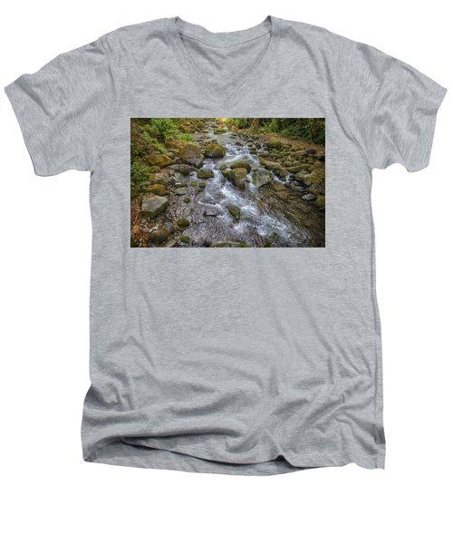 Savegre River - Costa Rica 2 Men's V-Neck T-Shirt