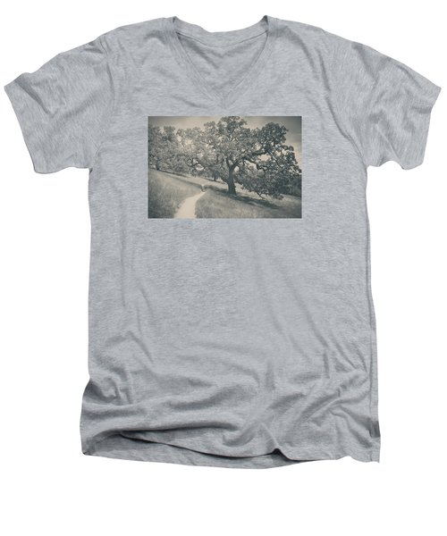 Say You Love Me Again Men's V-Neck T-Shirt by Laurie Search