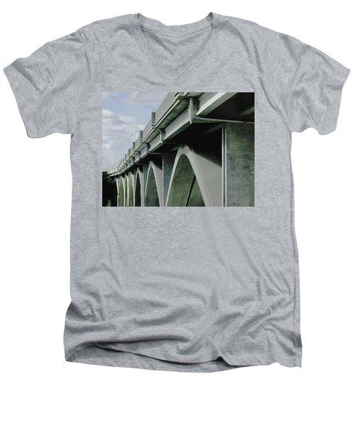 Saying Goodbye Men's V-Neck T-Shirt