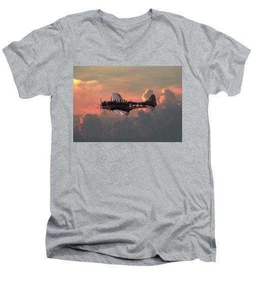 Sbd - Dauntless Men's V-Neck T-Shirt