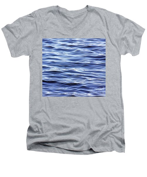 Scanning For Dolphins Men's V-Neck T-Shirt