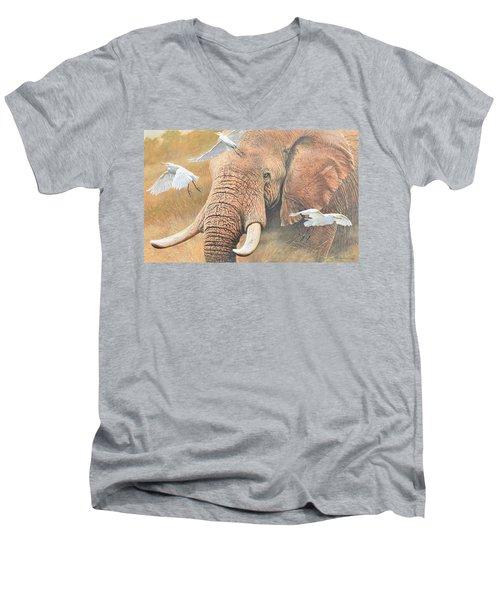Scatter Men's V-Neck T-Shirt
