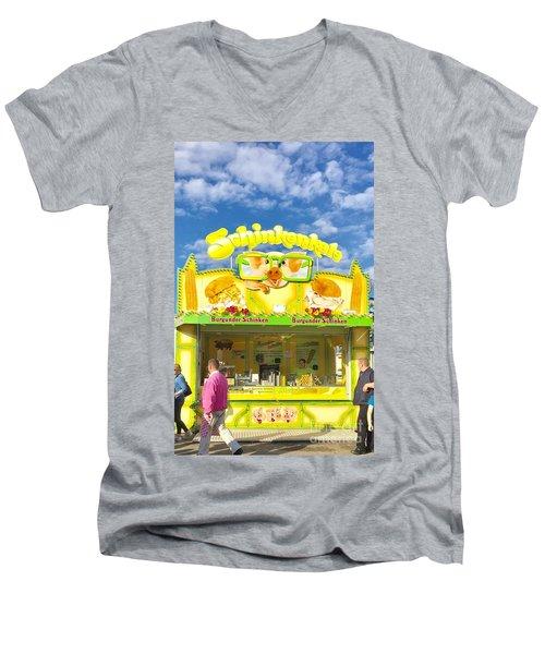 Hamburg, Germany, Schinkenkale Men's V-Neck T-Shirt
