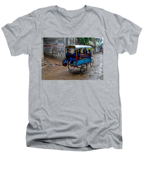 School Cart Men's V-Neck T-Shirt