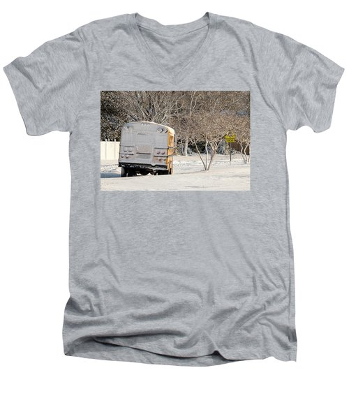 School Is Out Men's V-Neck T-Shirt