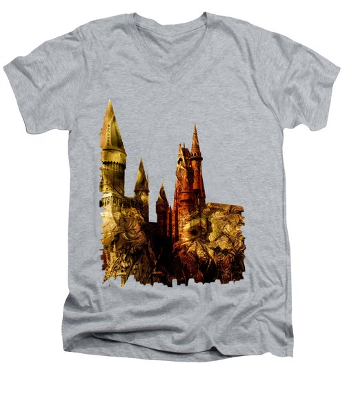 School Of Magic Men's V-Neck T-Shirt