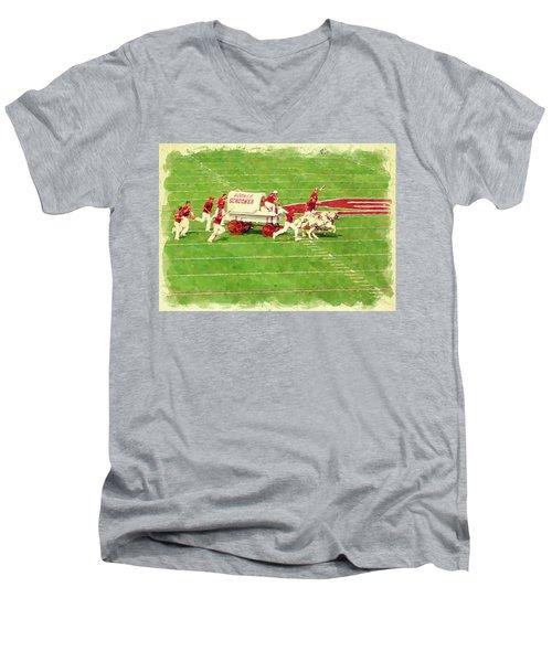 Schooner Celebration Men's V-Neck T-Shirt