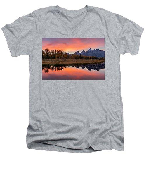 Schwabacher Sunset 2 Men's V-Neck T-Shirt