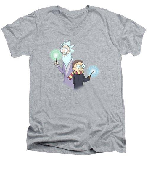 Schwifty Potter Men's V-Neck T-Shirt