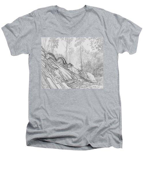 Score Men's V-Neck T-Shirt