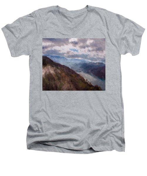 Scottish Landscape Men's V-Neck T-Shirt