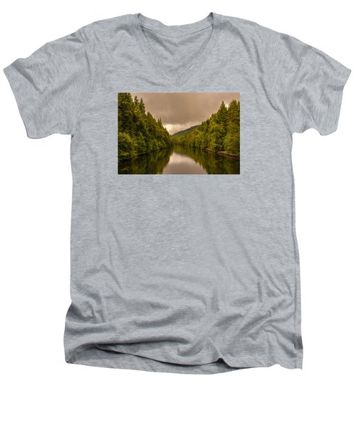 Scottish Loch 5 Men's V-Neck T-Shirt