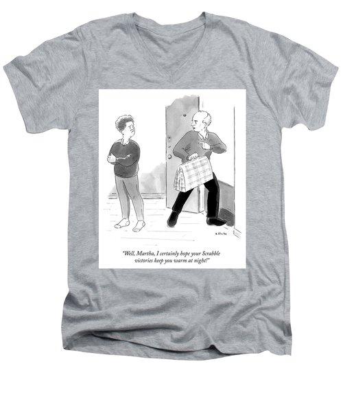 Scrabble Victories Men's V-Neck T-Shirt