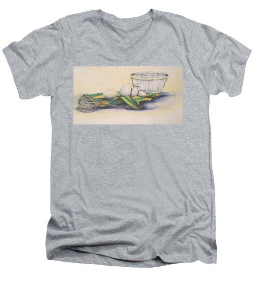 Scrambled Men's V-Neck T-Shirt