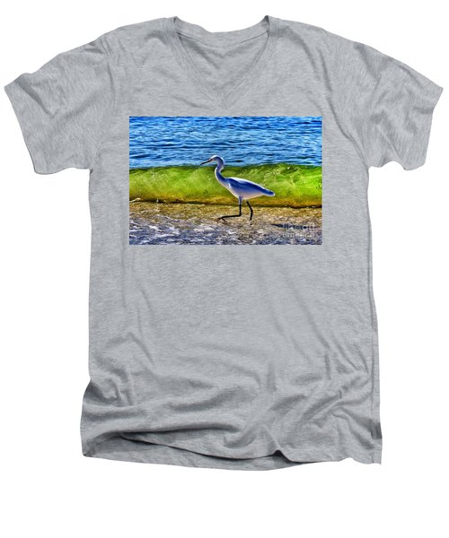 Scrambling Men's V-Neck T-Shirt