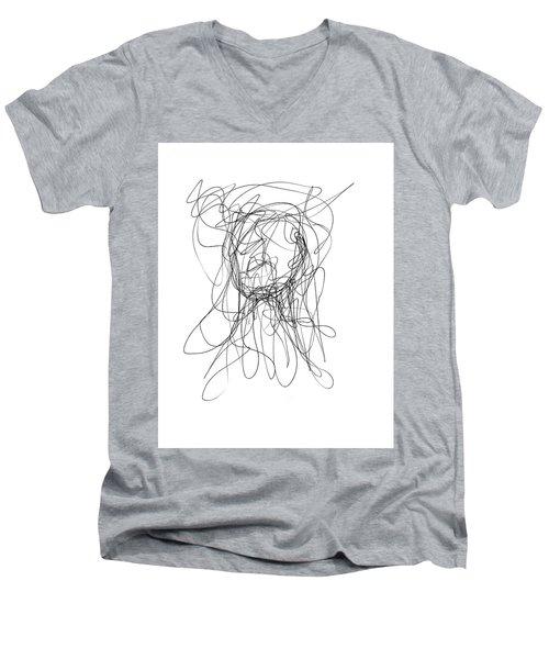 Scribble For Gusts, Dust, The Sun... Men's V-Neck T-Shirt