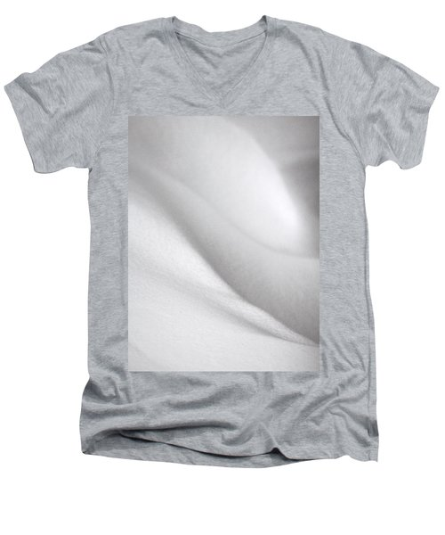 Sculpted By The Wind Men's V-Neck T-Shirt