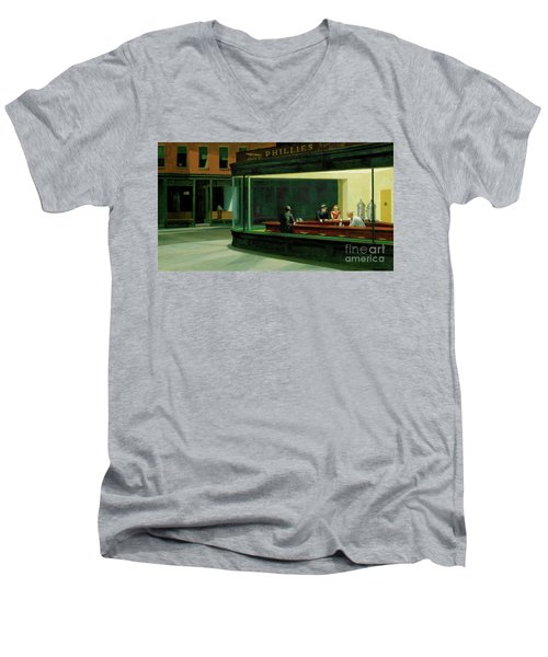 Men's V-Neck T-Shirt featuring the photograph Sdfgsfd by Sdfgsdfg