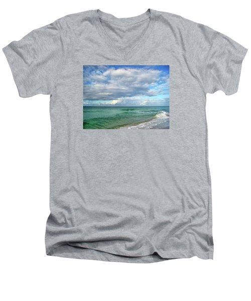 Sea And Sky - Florida Men's V-Neck T-Shirt