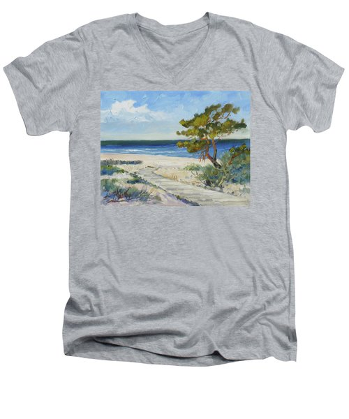 Sea Beach 6 - Baltic Men's V-Neck T-Shirt