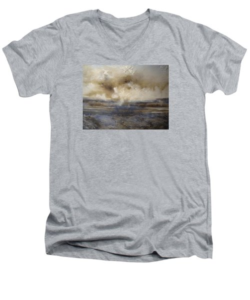 Sea Breeze Men's V-Neck T-Shirt by Tamara Bettencourt