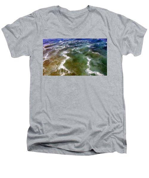 Sea Foam 1 Men's V-Neck T-Shirt