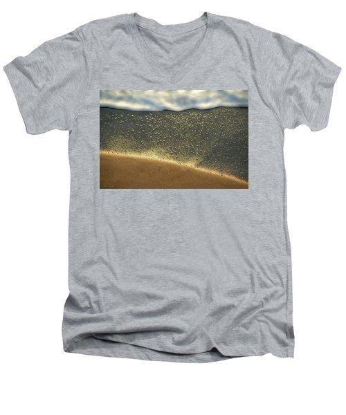Sea Foam #2 Men's V-Neck T-Shirt by Glenn Gemmell
