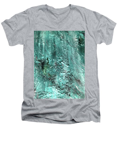 Sea Foam Men's V-Neck T-Shirt