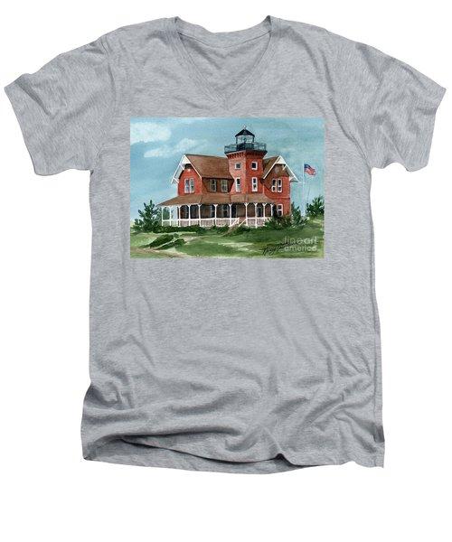 Sea Girt Lighthouse Men's V-Neck T-Shirt