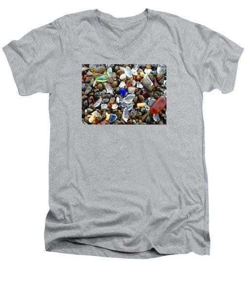 Sea Glass Beauty Men's V-Neck T-Shirt