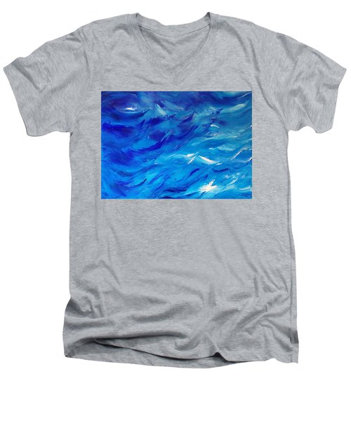 Sea I Men's V-Neck T-Shirt