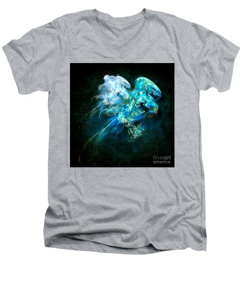 Sea Jellyfish Men's V-Neck T-Shirt