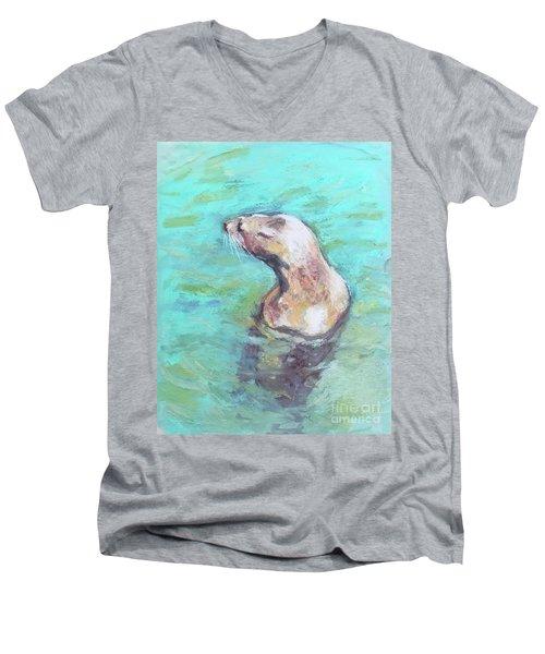 Sea Lion Men's V-Neck T-Shirt