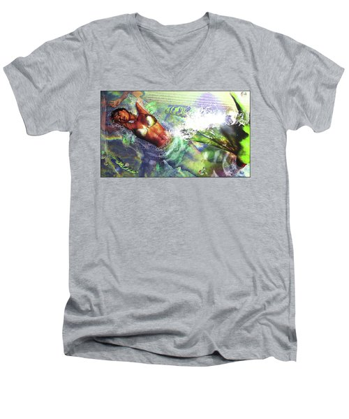 Sea Lioness Men's V-Neck T-Shirt