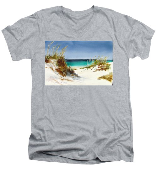 Sea Oats Men's V-Neck T-Shirt