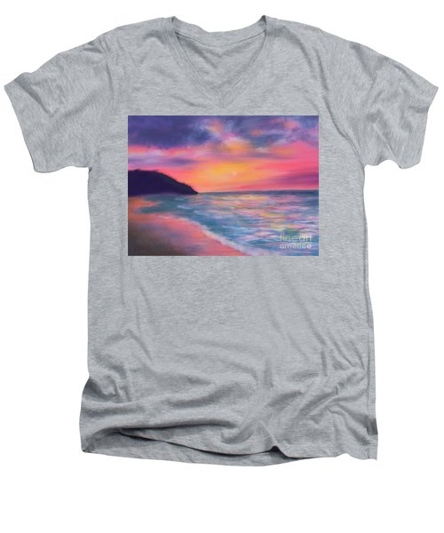 Sea Of Tranquility Men's V-Neck T-Shirt