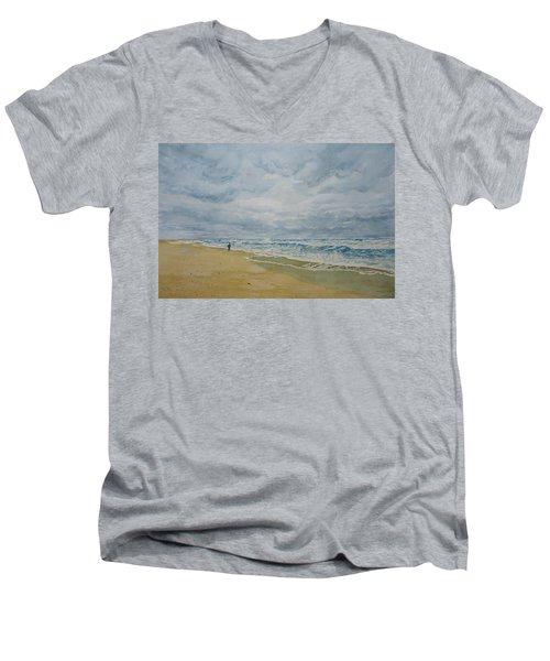 Sea Shore Men's V-Neck T-Shirt