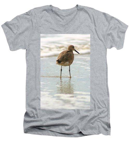 Sea Shore Stroller Men's V-Neck T-Shirt