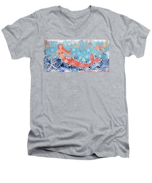 Sea Siren Men's V-Neck T-Shirt