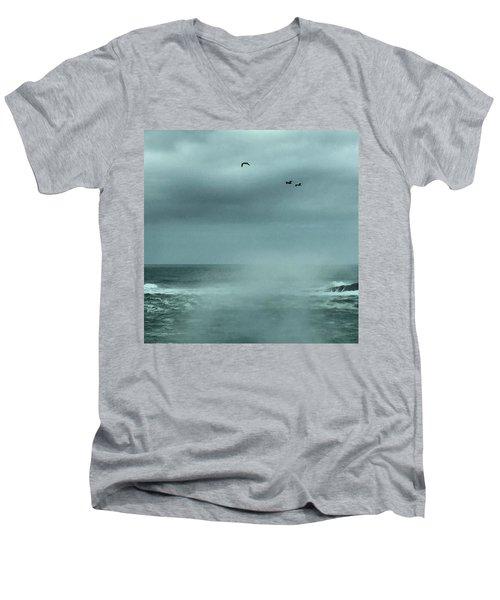 Sea Spray Men's V-Neck T-Shirt