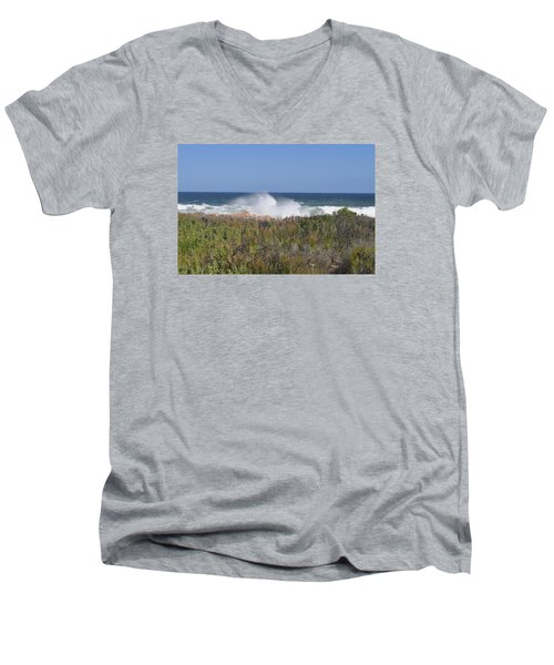 Sea Spray Men's V-Neck T-Shirt