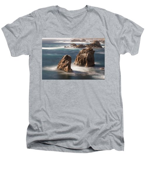 Sea Stacks  Men's V-Neck T-Shirt