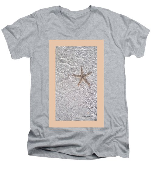 Sea Star 11 Anna Maria Island Men's V-Neck T-Shirt