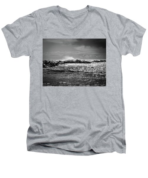 Sea Storm Men's V-Neck T-Shirt
