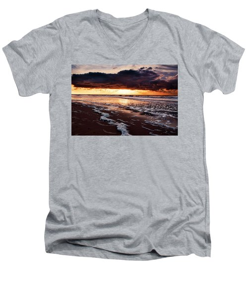 Sea Sunset Men's V-Neck T-Shirt