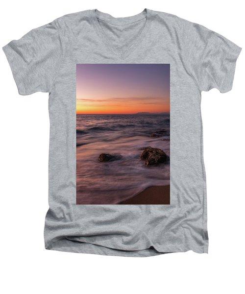 Sea Survivors Men's V-Neck T-Shirt