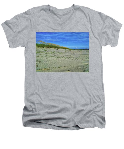 Sea Swept Men's V-Neck T-Shirt